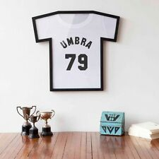 BLACK T SHIRT FRAME for Any Signed Football Rugby Cricket Golf Uni School Shirts