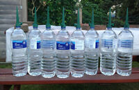 Set of 8 Jardín Tapa Botella Irrigación clavos agua Semilla Planta Riego de