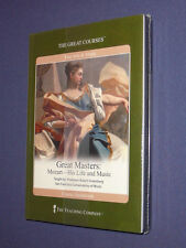 Teaching Co Great Courses DVDs       MOZART   Life and Music        new & sealed