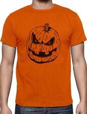JACK O' LANTERN Easy Halloween Costume Evil Pumpkin Face T-Shirt Gift