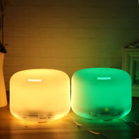 500ML  LED Humidifier Air Aroma Essential Oil Diffuser Aromatherapy Atomiz*^