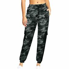 Primark NEW Womens Green /& Grey High Waisted Utility Cargo Casual Trousers 6-20