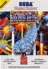Arcade Smash Hits - SEGA Master System (Complete & Good Condition)