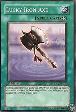 YU-GI-OH CARD: LUCKY IRON AXE - YSDJ-EN032 - 1st ED.