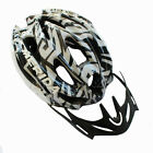 Black Cycling Bike Sports Safety Bicycle 15 Holes Adult Men Helmet with visor