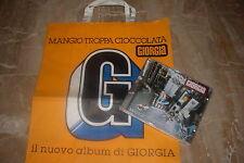 "GIORGIA - CD + SACCHETTO PROMO "" MANGIO TROPPA CIOCCOLATA """