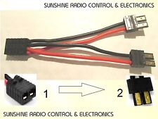 RC Traxxas Parallel Y Lead Battery Connector For LiPo NiMh Connect Two Batteries