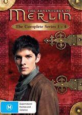 The Adventures Of Merlin : Series 1-4