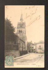 ANGERVILLE (91) VILLAS & EGLISE en 1904