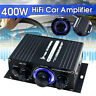 400W 12V HIFI Audio Power Amplifier LED Stereo Car Home Subwoofer Sound Speaker