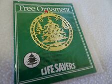 VINTAGE LIFE SAVERS CHRISTMAS ORNAMENT-NOS-NEW IN ORIGINAL PACKAGING