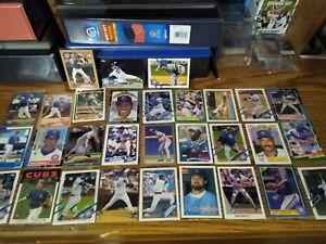 CUBS SUPERSTARS🌠SANDBERG, DAWSON, GRACE, MADDUX, WOOD, HAPP, BAEZ, (30 Cards)