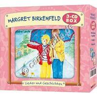 CD-Set: DIE MARGRET-BIRKENFELD-BOX 2 - drei CDs - Kinderlieder & Hörspiele °CM°