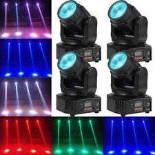 4X Tomshine 30W RGBW Beam Moving Head Stage Light Lighting DMX Party Club Light