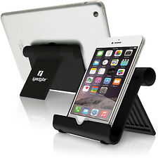 Black Aluminium Portable Fold-up Stand Cradle Holder For iPad Tablet e-Reader