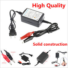 1 X New 1300mA compact Car Motorcycle Battery Trickle Charger Tender Maintainer