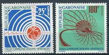 Gabun - Satelliten-Telekommunikation Satz postfrisch 1963 Mi. 185-186