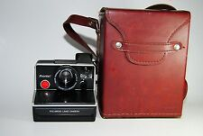 Pronto Polaroid land camera w/ case
