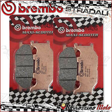 4 PLAQUETTES FREIN AVANT BREMBO FRITTE XS YAMAHA MAJESTY ABS 400 2013