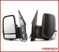 Mercedes Sprinter Full Door Wing Mirror Manual Black Short Arm NS Left 2006 2018