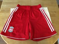 Adidas Liverpool Boy's Original Football English Teams Shorts 32 UK VERY GOOD
