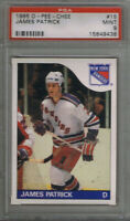 "(1.CARD) JAMES PATRICK 1985-86 O PEE CHEE ""PSA 9"" #15"