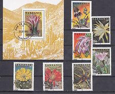 Tanzania 1995 - Set + Block - Bloemen/Flowers/Blüte