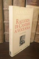 F. De Lemene RACCOLTA DI CANTATE A VOCE SOLA Ugo Guanda Pietro Bembo 1996