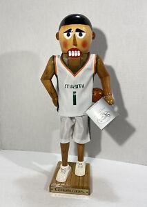 MIAMI HURRICANES Basketball Nutcracker 2002 Sterling & Camille #487/500 Canes
