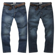 Indigo, Dark wash Regular Big & Tall Loose Jeans for Men