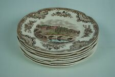 Johnson Bros Old Britain Castles small plates (set of 8)