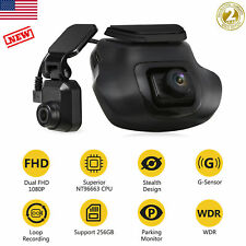 New listing Hd Dual Lens Dash Cam Car Front Rear Camera Recorder Night Vision G-sensor 16Gb