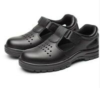 Summer Men's Work Safety Shoes Steel Toe Breathable Boots Sandals Work Sneaker
