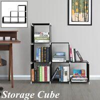 3 Tier Storage Cube Closet 6 Cubes Organizer Shelf Cabinet Bookcase Shelves Home