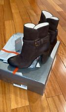 PRADA BOOTS  BRAND NEW WITH BOX  SIZE: 35  COLOR: DARK BROWN