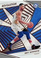 2018-19  Ben Simmons #25 Refractor Panini Revolution Base Card 76ers