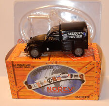 NOREV HACHETTE CITROEN 2CV AZU 1954 SECOURS ROUTIER 1/43 IN BOX