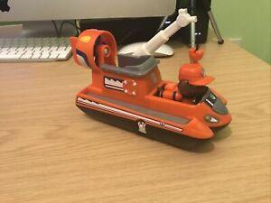 Paw Patrol Ultimate Rescue - Zuma Hovercraft Vehicle + Figure - Combine Postage