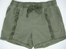 Susina cotton/rayon shorts size XSP from Nordstrom khaki green fits like small