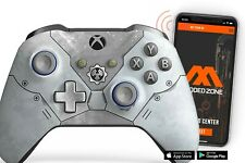 """""""GOW 5"""" Xbox One S SMART Custom Rapid Fire Modded Controller. FPS mods. COD"""