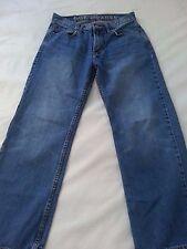 American Eagle Men's Low Loose Blue Denim Jeans 28x28