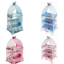 Birdcage Cupcake Cardboard Cake Stand Vintage Wedding Tea Party Display Holder