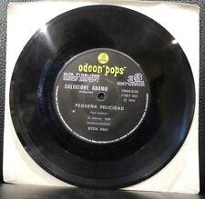 Salvatore Adamo Pequena Felicidad / Mi Cine Odeon Pops 33 RPM Argentina 1970 VG+