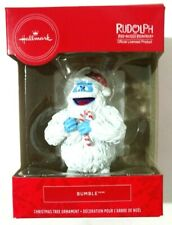 Hallmark Rudolph Red Nosed Reindeer Bumble Christmas Ornament 2019 Holiday Yeti