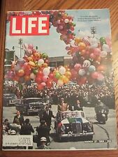 Life Magazine Charles De Gaulle Mexico March 1964