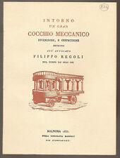 1833 (1986) - BOLOGNA – COCCHIO MECCANICO