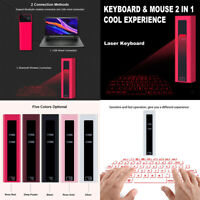 2 in 1 Novelty Virtual Laser Projection Keyboard & Mouse with Voice Broadcast