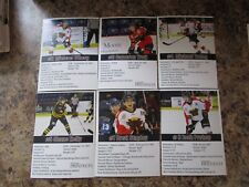 2017-18 VERNON VIPERS BRETT STAPLEY BCHL PHOTO SERIES SINGLE PLAYER CARD
