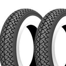 Dos Kenda Pared Blanca Neumáticos 3.50-10 K333 4PR 51J Tt para 10 Pulgadas
