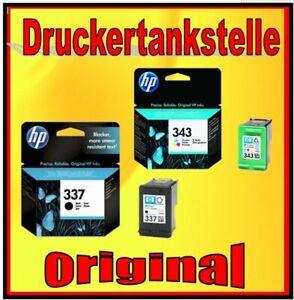 Original HP 343 337 Sparpaket  Officejet 6310 6315 H470 H470b H470wbt K7100 NEU